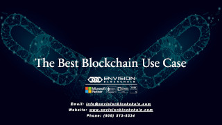 The Best Blockchain Use Case