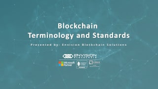 Blockchain Terminology and Standards