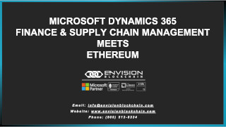 Microsoft Dynamics 365 Finance and Supply Chain Management meets Ethereum